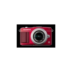Цифровой фотоаппарат Olympus Pen E-PM2 Kit red-silver